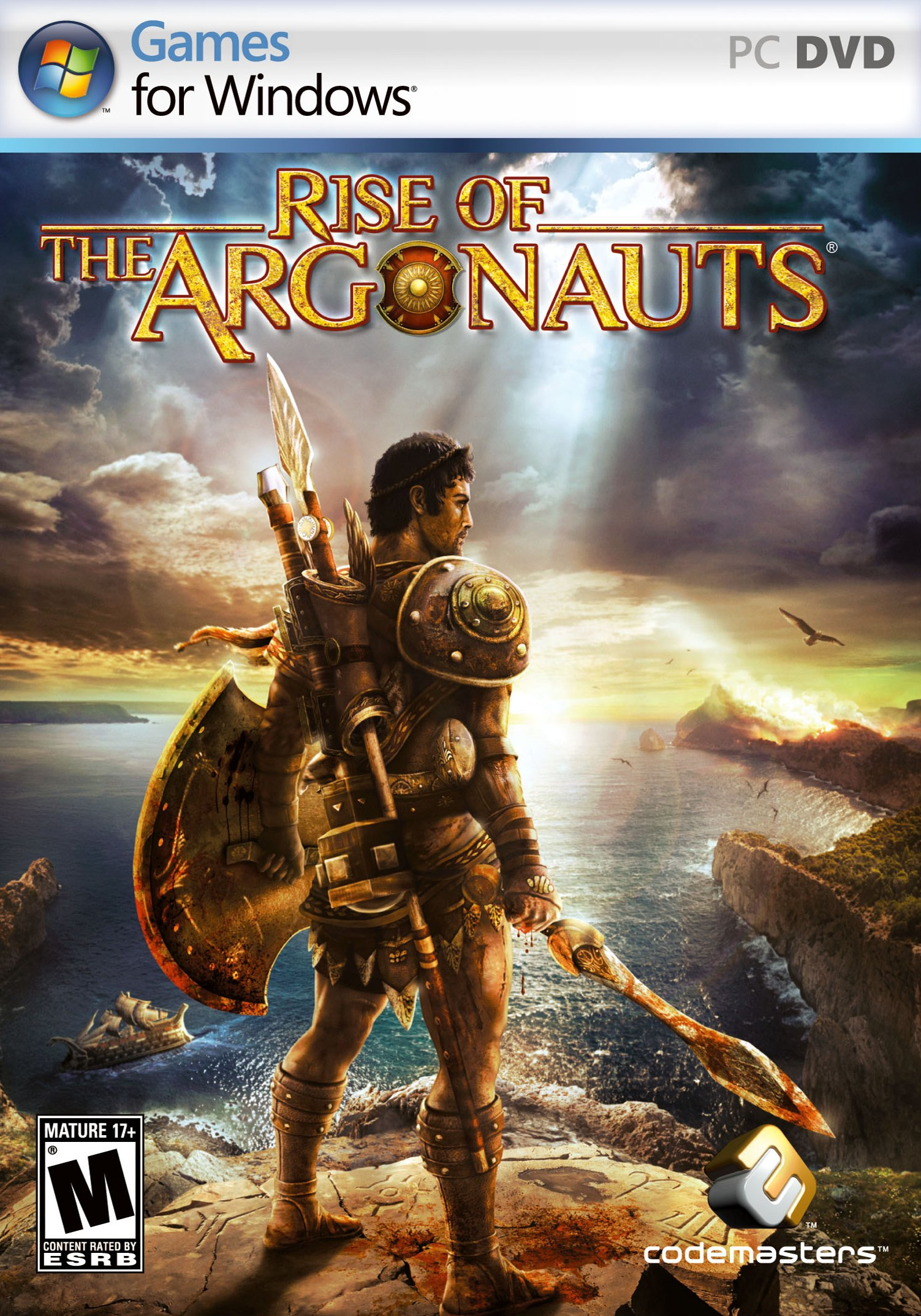 Poster Rise of the Argonauts (2008)