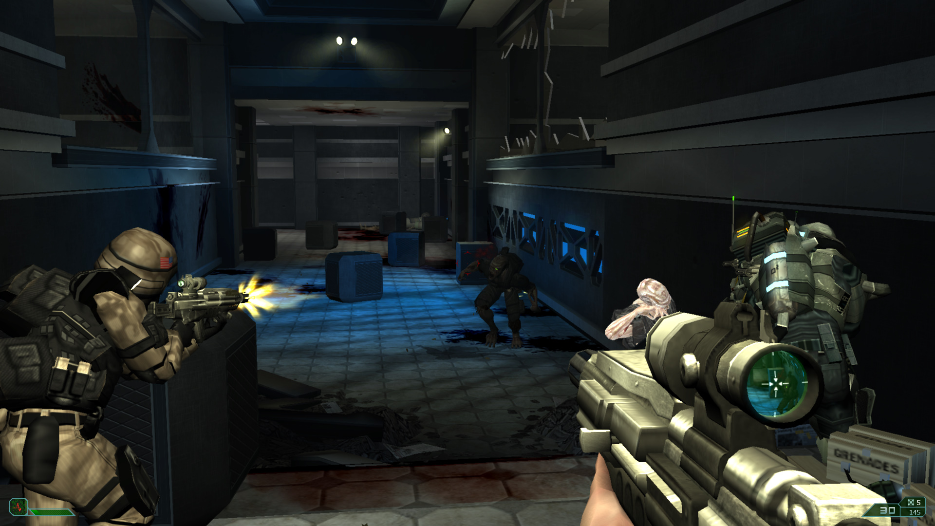 Screenshot for the game Area 51: Dilogy (2005-2007) PC | RePack от R.G. Механики