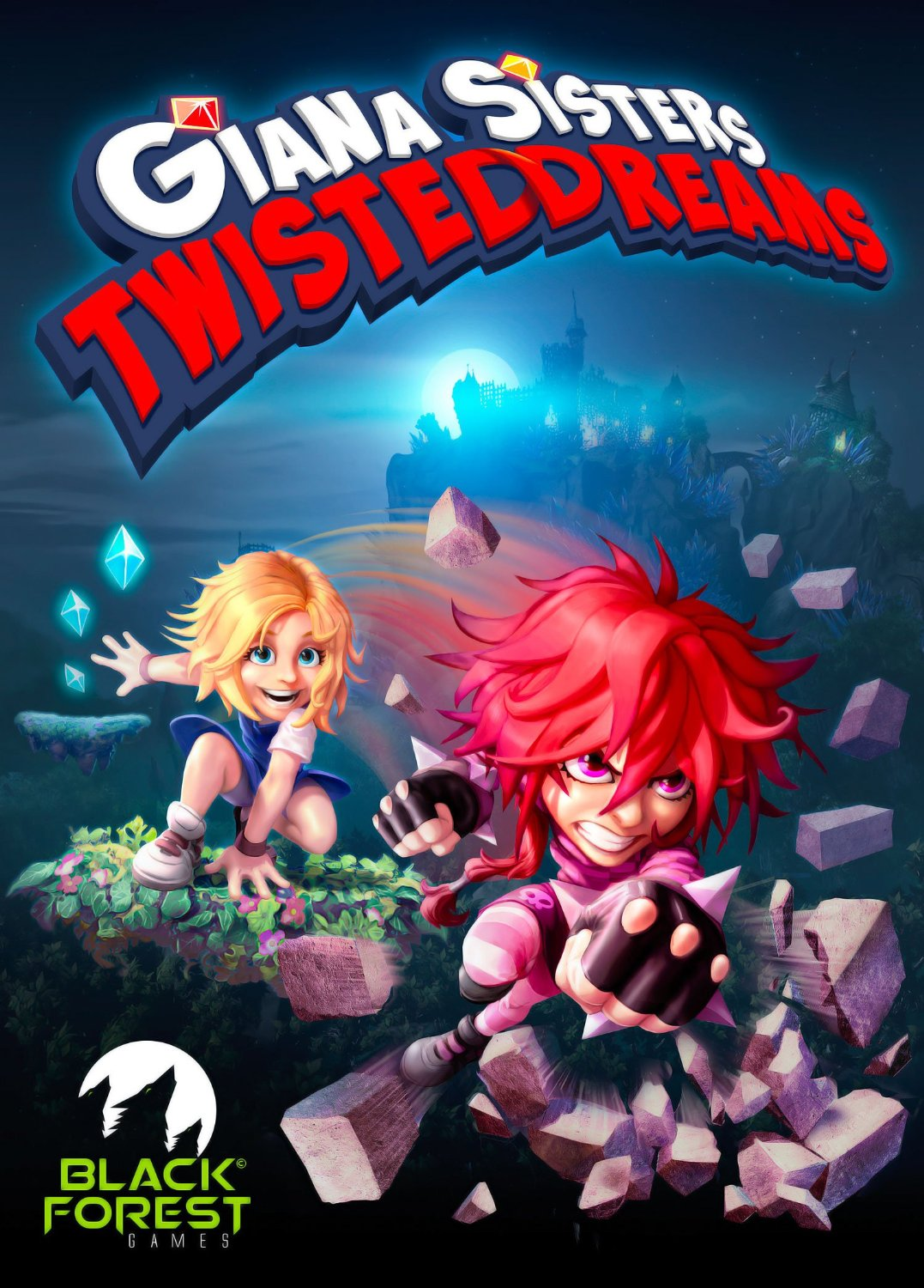 Poster Giana Sisters: Twisted Dreams (2012)