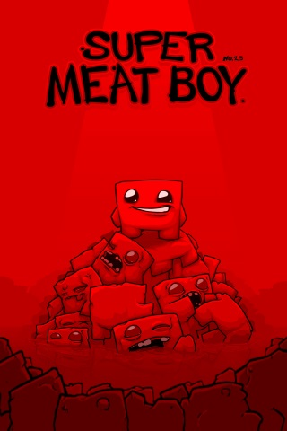 Poster Super Meat Boy (2010)