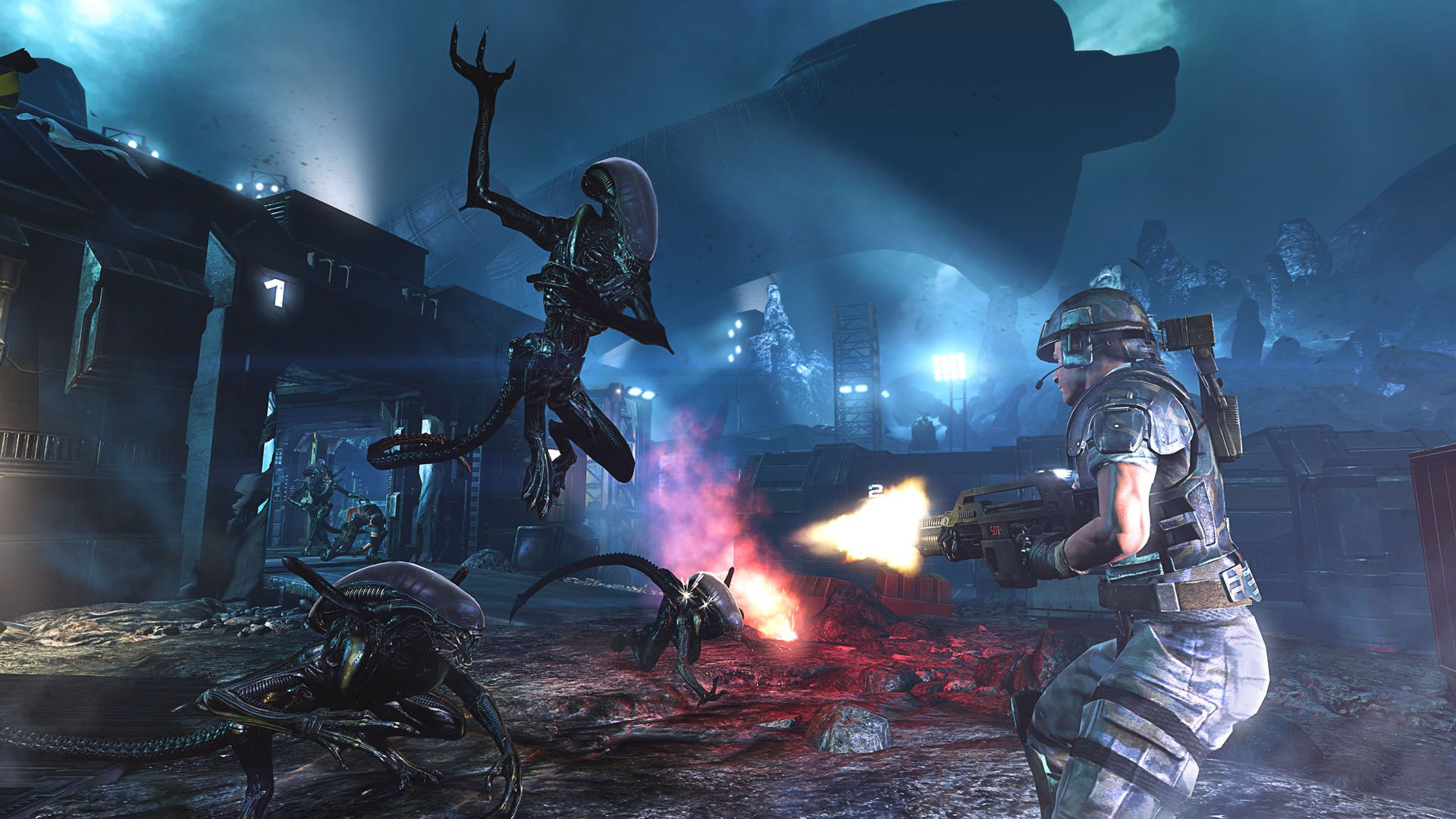 Screenshot for the game Aliens: Colonial Marines - Collector's Edition (2013) PC | RePack от R.G. Механики
