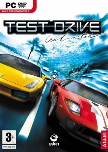 Poster Test Drive Unlimited Gold (2008)