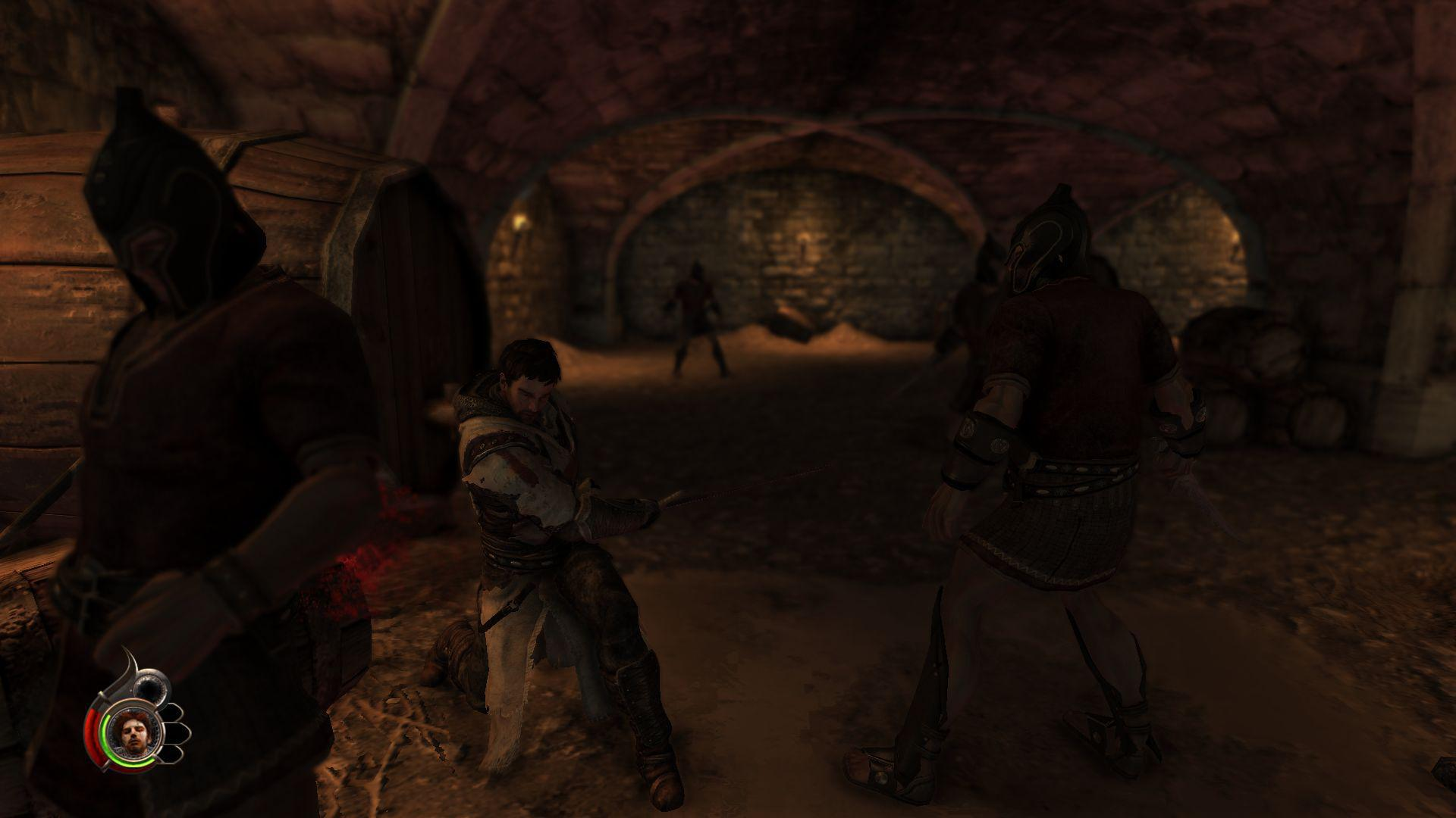 Screenshot for the game The Cursed Crusade (2011) PC | Repack от R.G. Механики