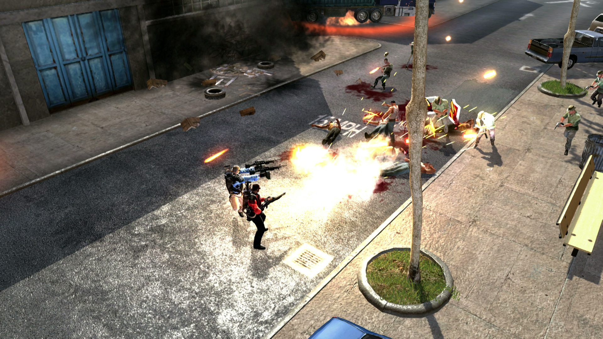 Screenshot for the game Narco Terror (2013) PC | RePack от R.G. Механики