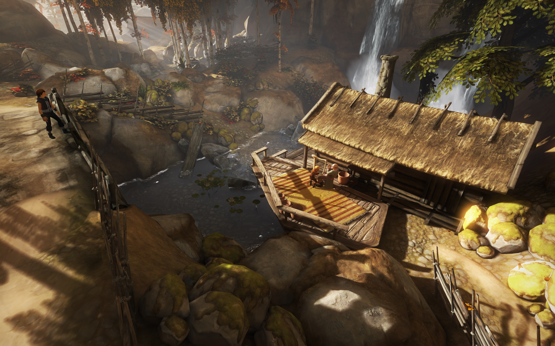 Screenshot for the game Brothers: A Tale of Two Sons (2013) PC | RePack от R.G. Механики