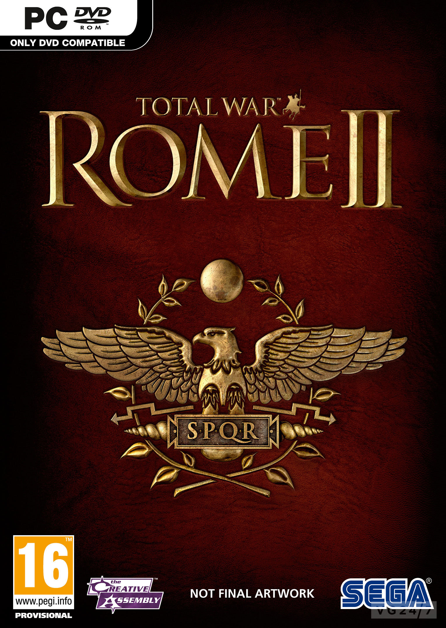 Cover Total War: Rome 2