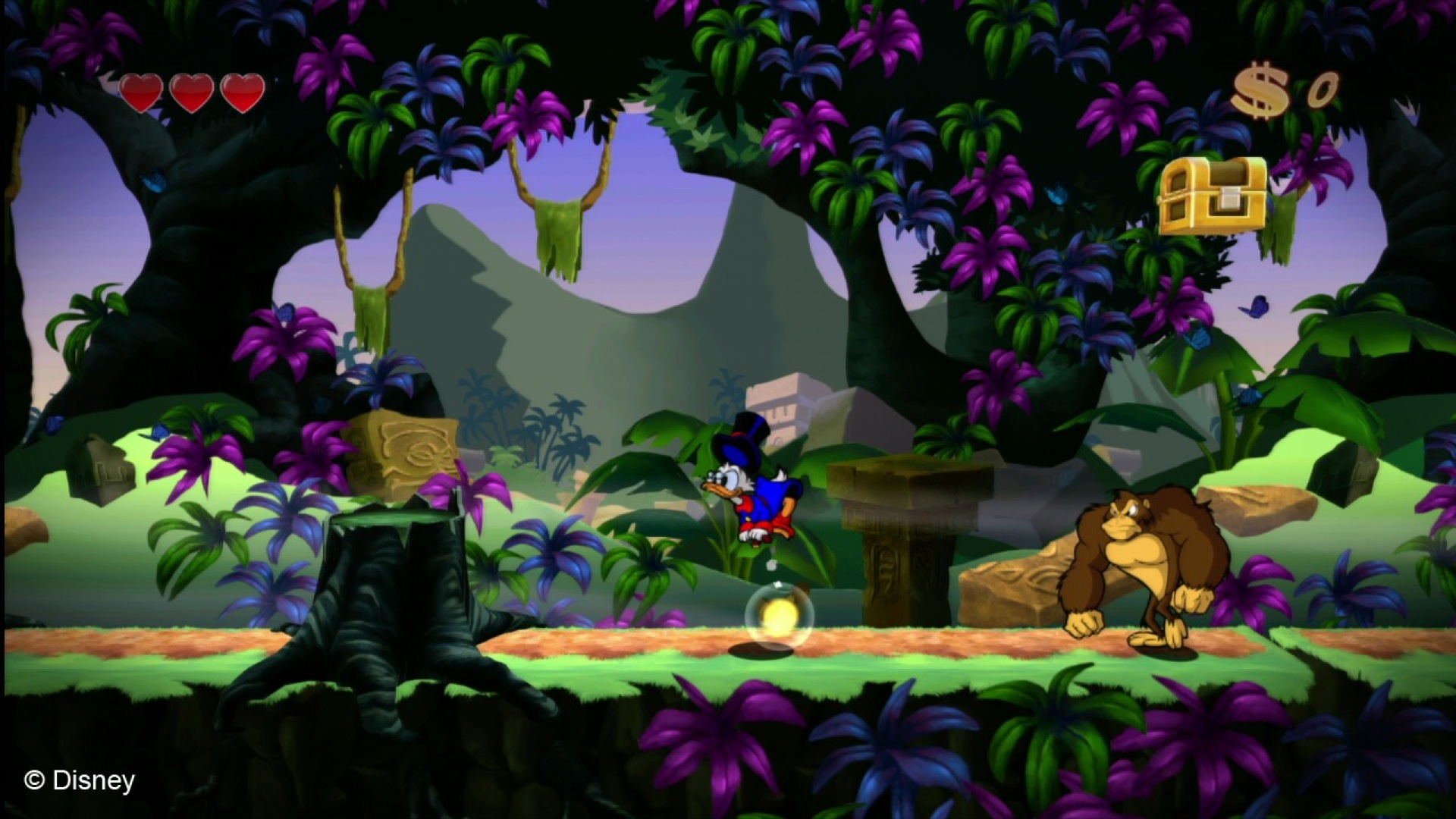 Screenshot for the game DuckTales: Remastered (2013) РС | RePack от R.G. Механики
