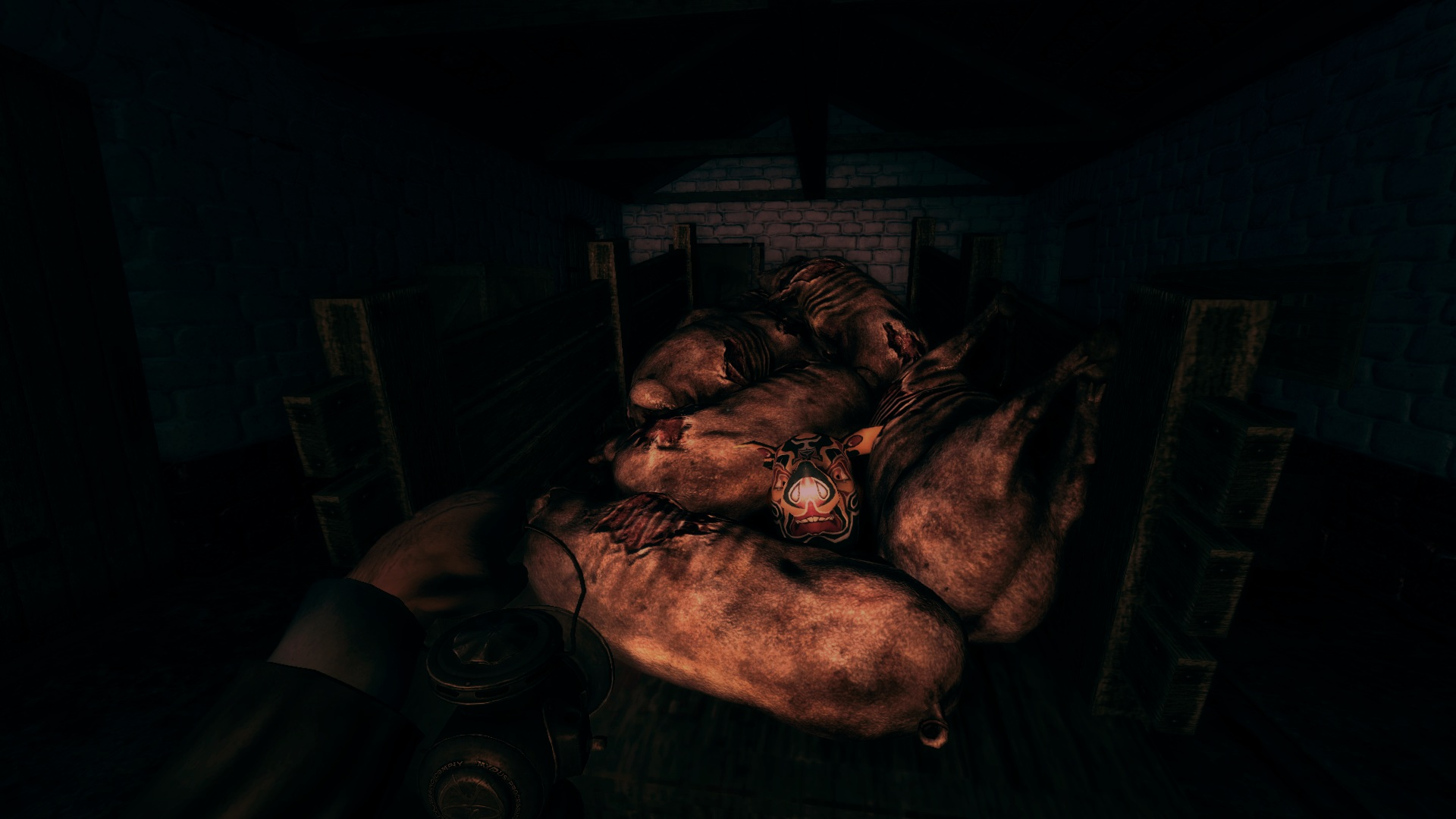 Screenshot for the game Amnesia: A Machine for Pigs (2013) PC | RePack от R.G. Механики