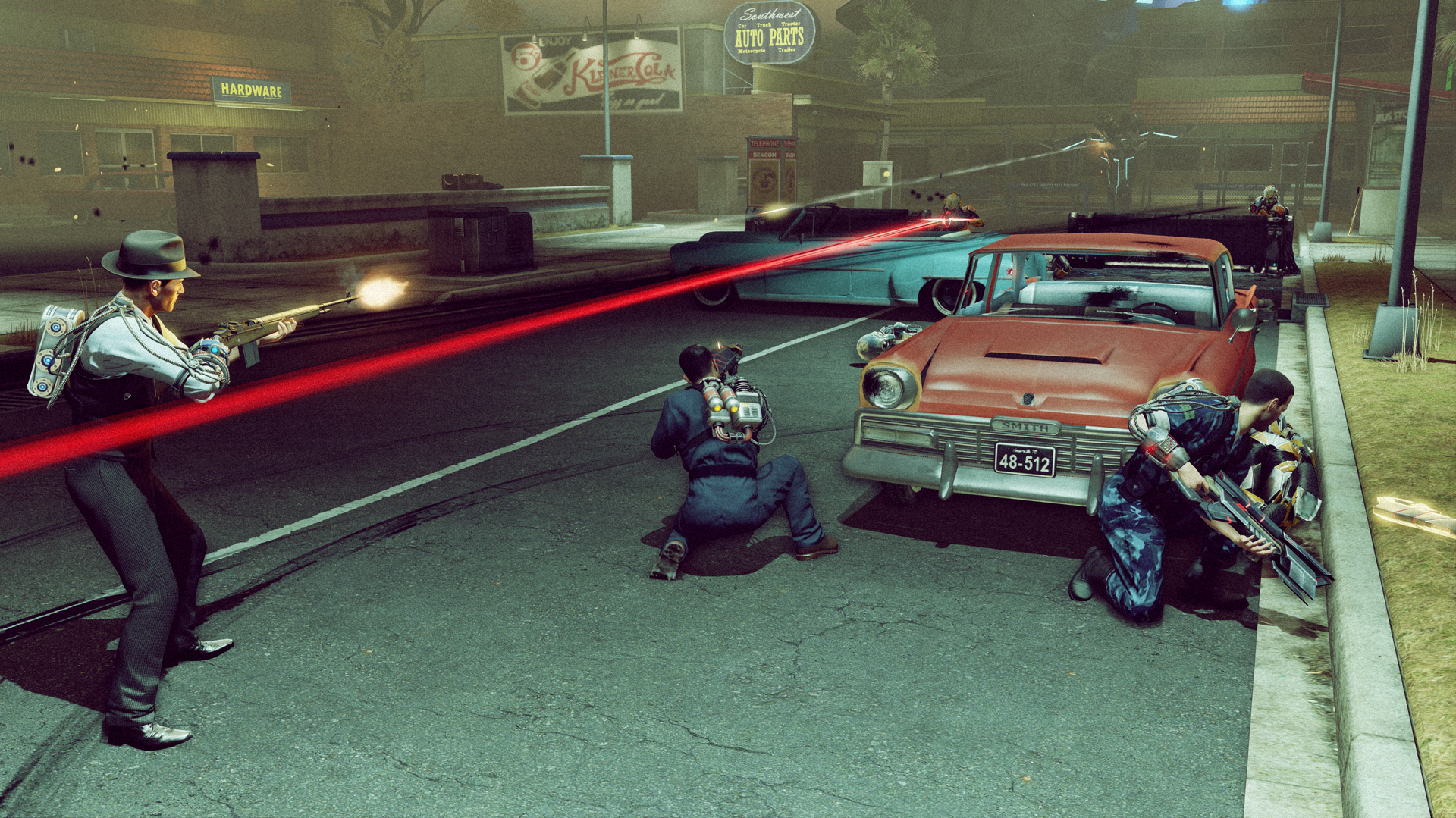 Screenshot for the game The Bureau: XCOM Declassified (2013) РС | RePack от R.G. Механики
