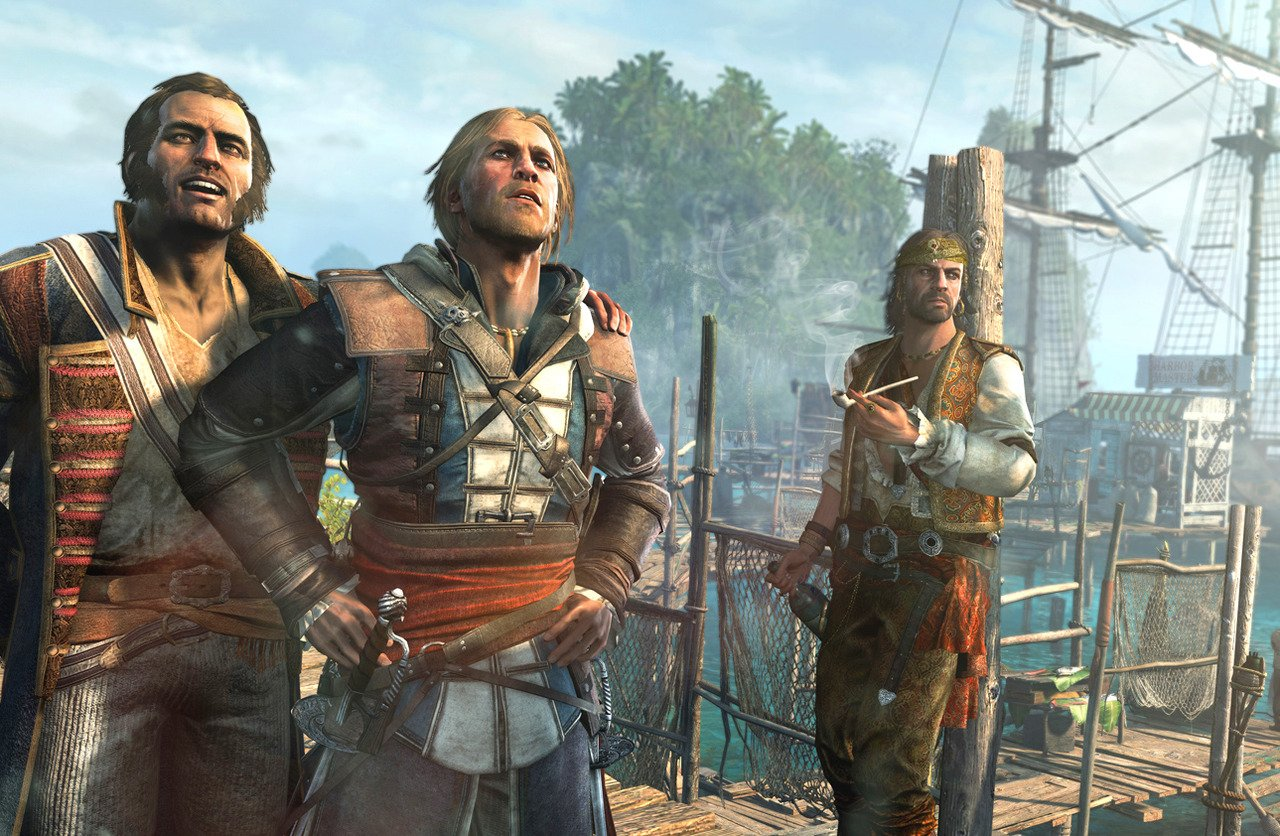 Screenshot for the game Assassin's Creed IV: Black Flag (2013) PC | Rip от R.G. Механики