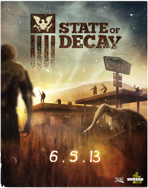 Poster State of Decay (2013)