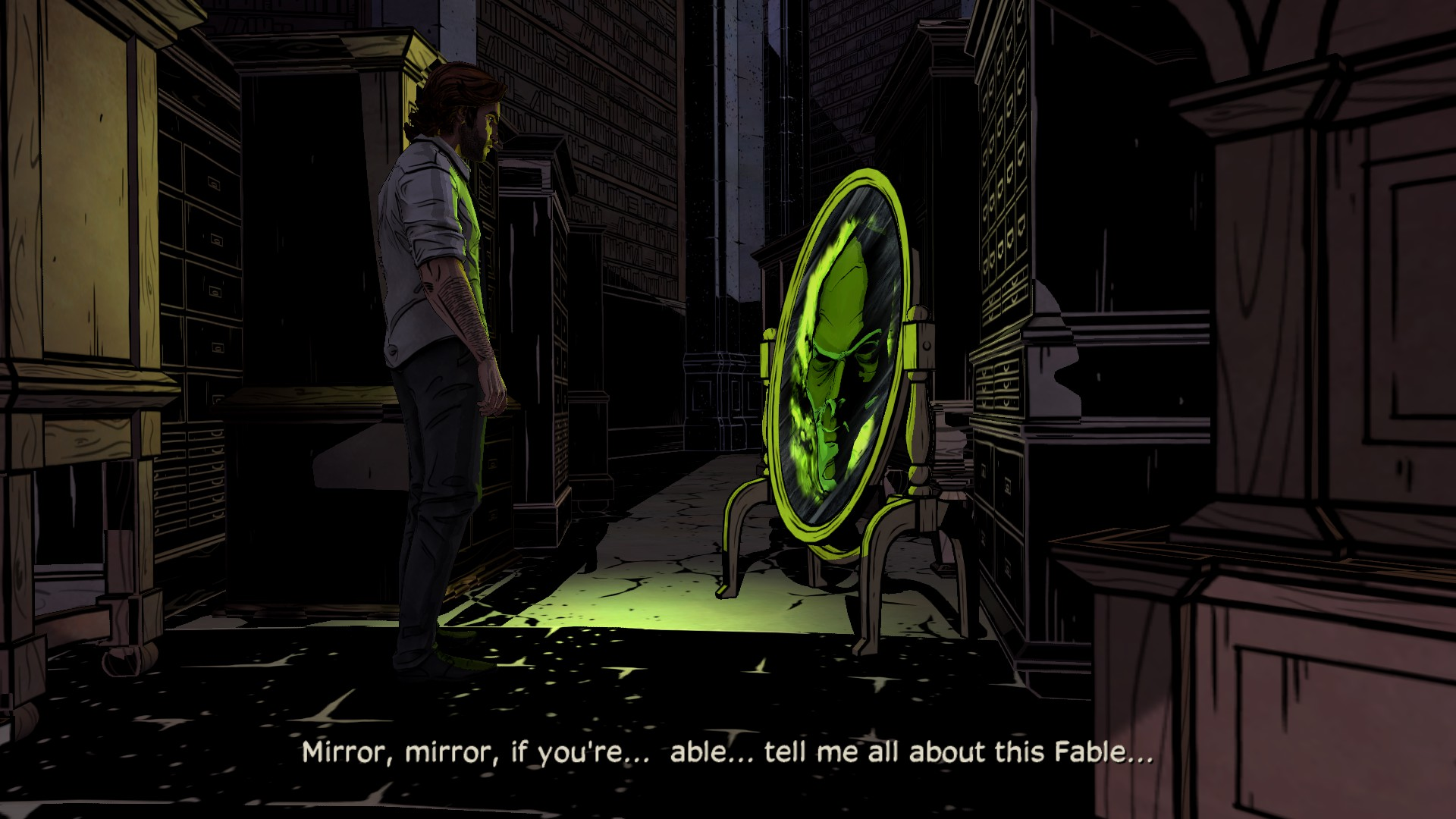 Screenshot for the game The Wolf Among Us - Episode 1 (2013) PC | RePack от R.G. Механики