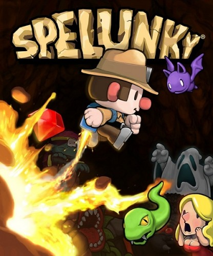 Cover Spelunky (2013) PC | RePack от R.G. Механики