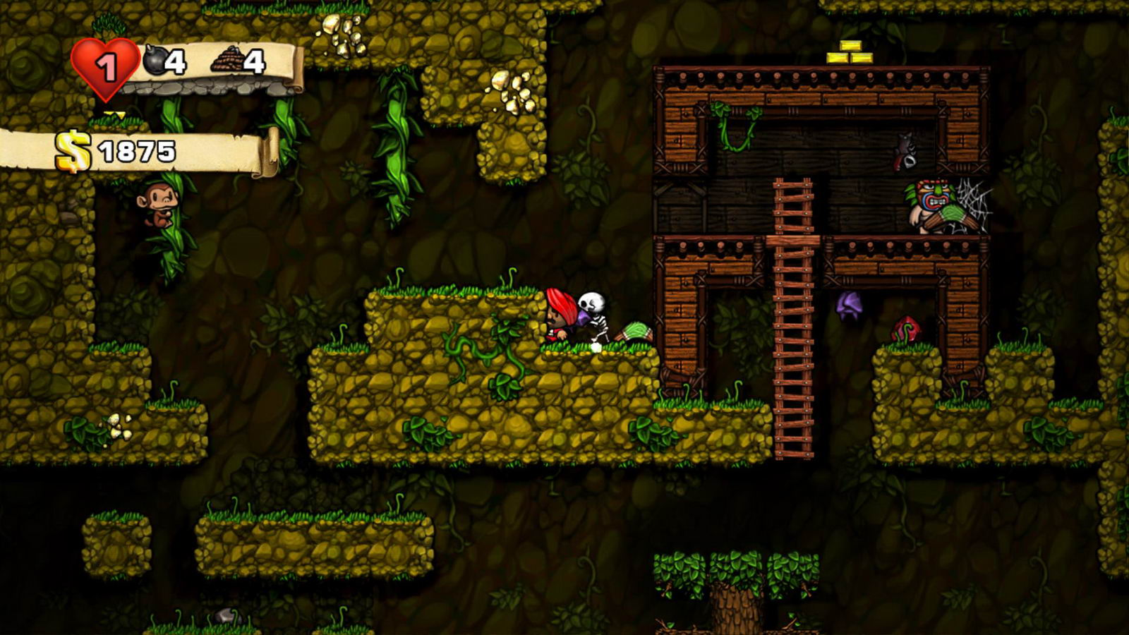 Screenshot for the game Spelunky (2013) PC | RePack от R.G. Механики