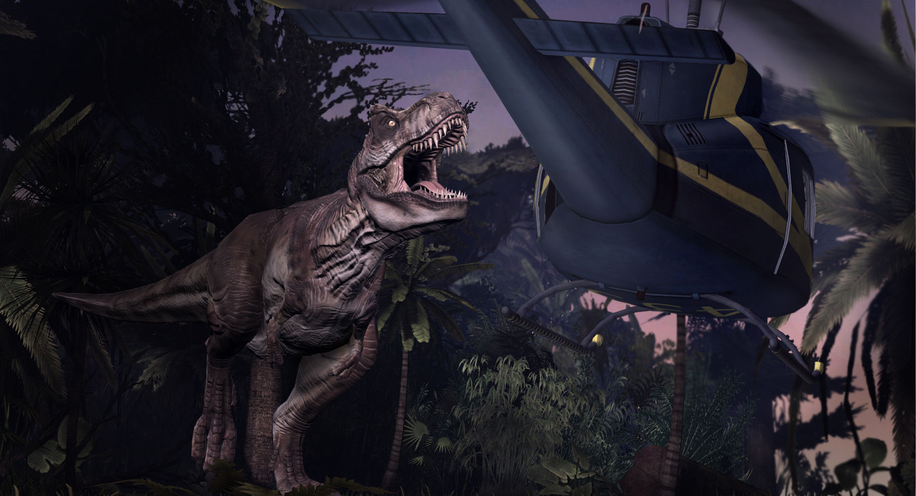 Screenshot for the game Jurassic Park: The Game (2011) PC | RePack от R.G. Механики
