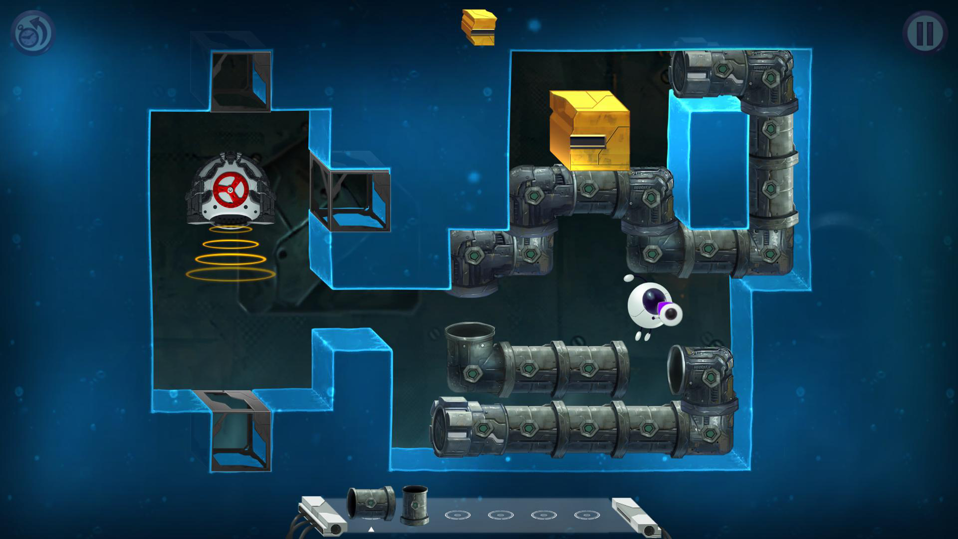 Screenshot for the game Tetrobot and Co. (2013) PC | RePack от R.G. Механики