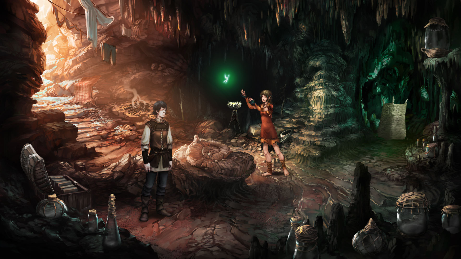 Screenshot for the game The Dark Eye: Chains of Satinav (2012) PC | RePack от R.G. Механики