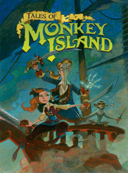Cover Tales of Monkey Island (2009) PC | RePack от R.G. Механики