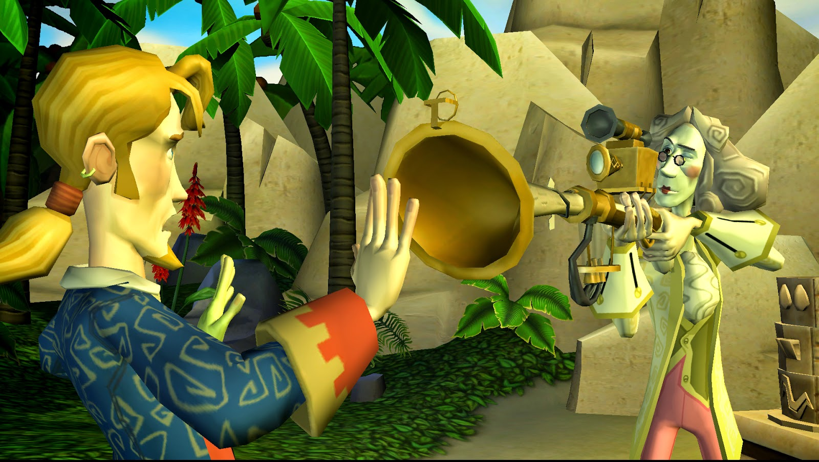 Screenshot for the game Tales of Monkey Island (2009) PC | RePack от R.G. Механики