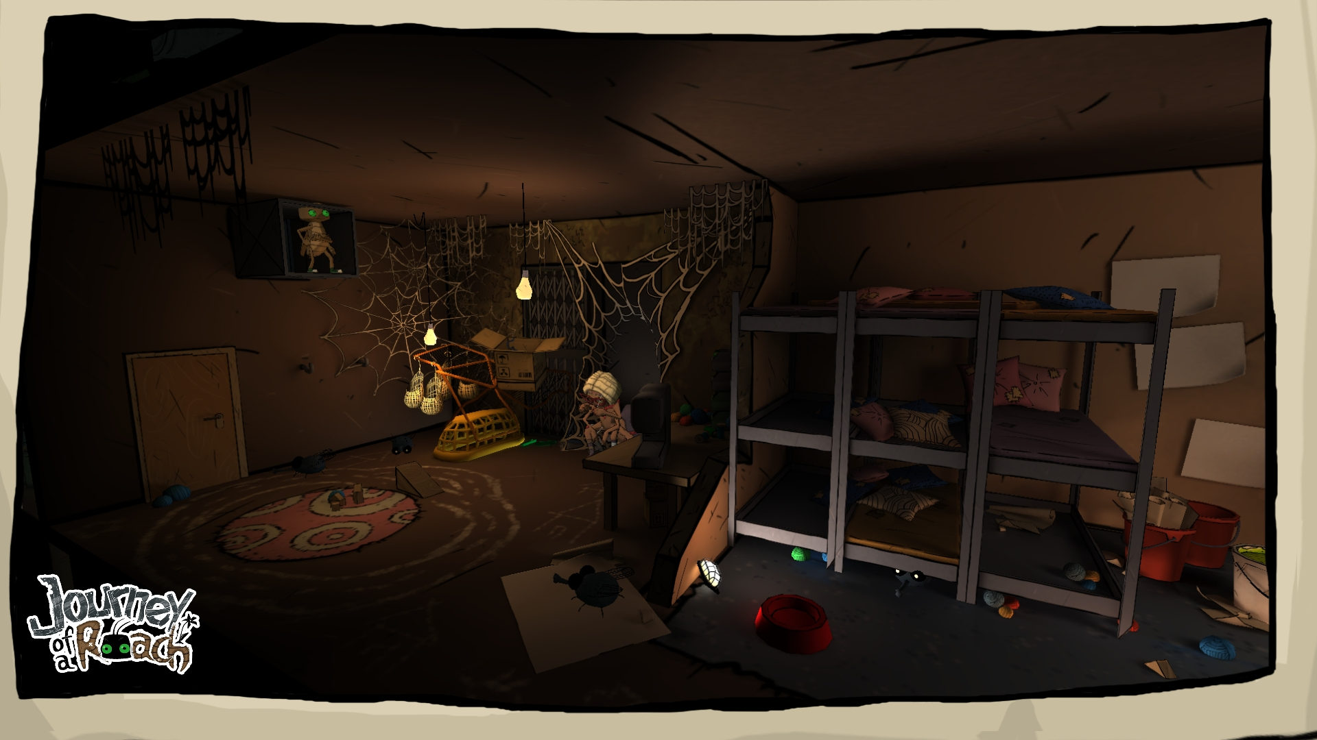 Screenshot for the game Journey of a Roach (2013) PC | RePack от R.G. Механики