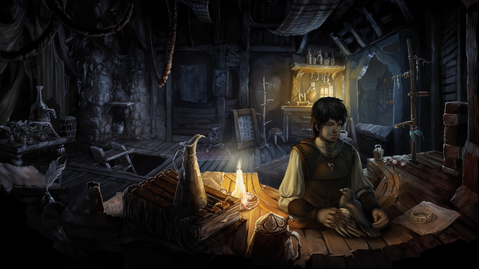 Screenshot for the game Memoria (2013) PC | RePack от R.G. Механики