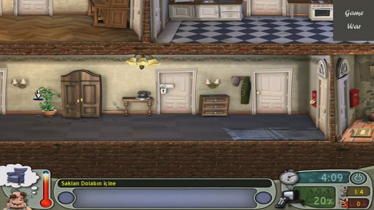 Screenshot for the game Как достать соседа: Дилогия / Neighbours from Hell: Dilogy (2003 - 2004) PC | RePack от R.G. Механики