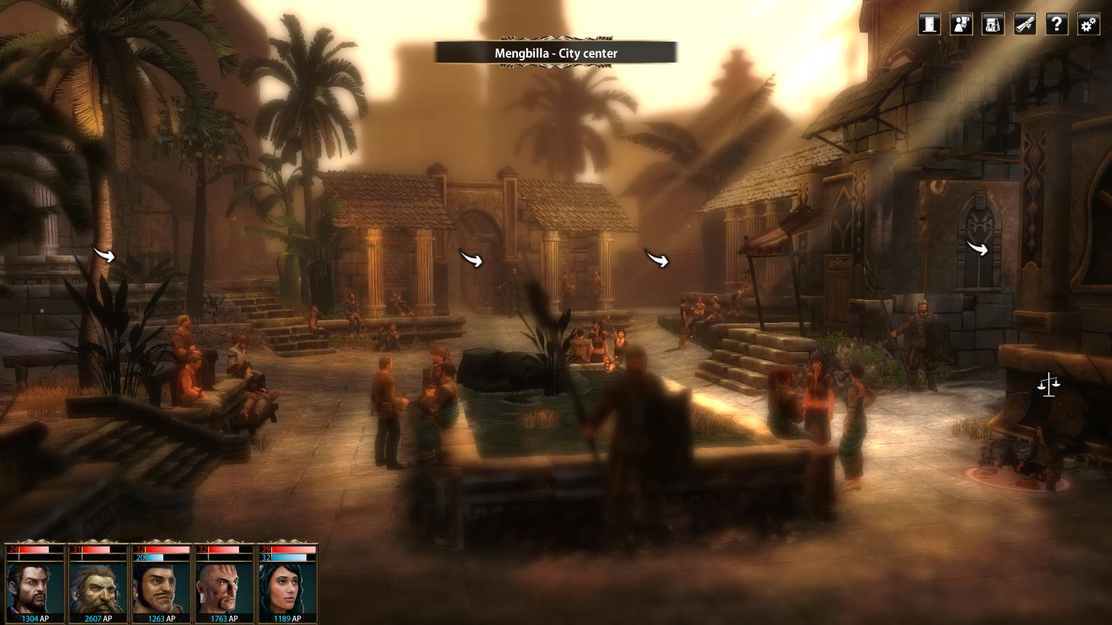 Screenshot for the game Blackguards (2013) PC | RePack от R.G. Механики