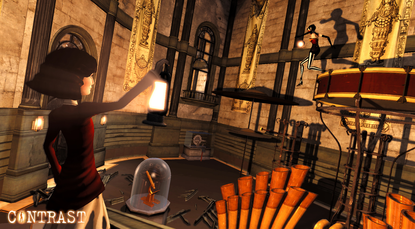 Screenshot for the game Contrast [v 1.11736] (2013) PC | RePack от R.G. Механики