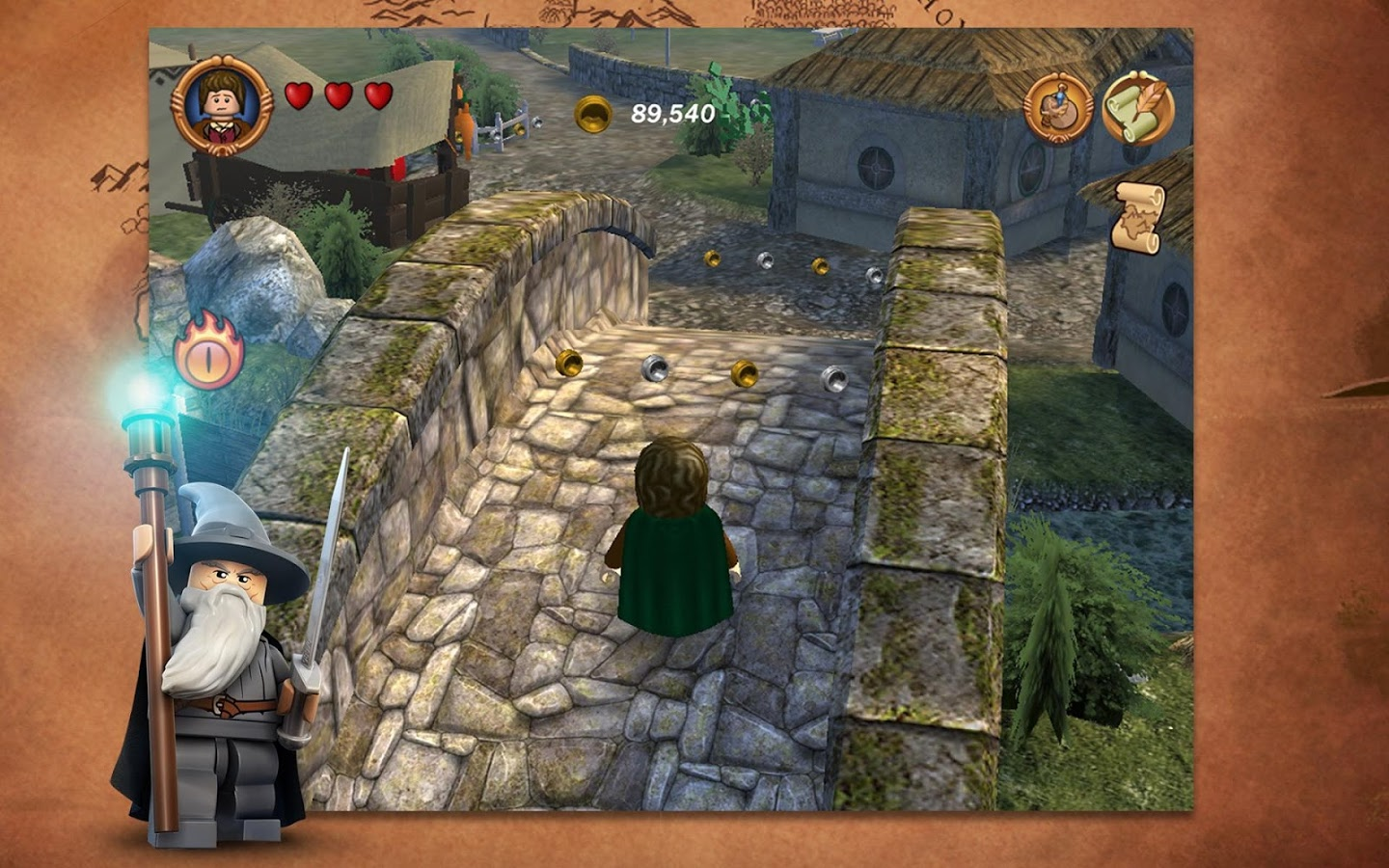 Screenshot for the game LEGO The Lord of the Rings (2012) PC | RePack от R.G. Механики