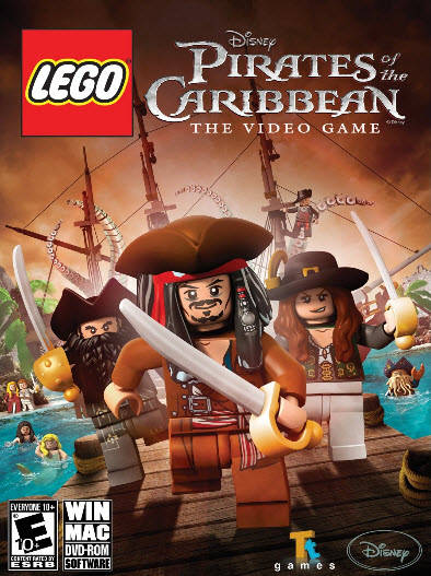 Poster LEGO Pirates of the Caribbean (2011)