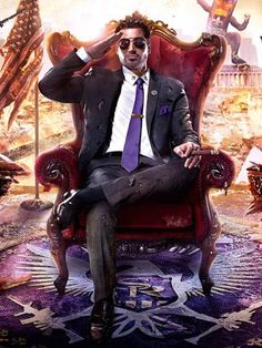 Poster Saints Row 4 (2013)