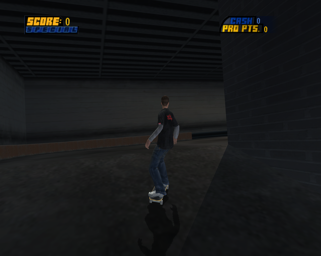 Screenshot for the game Tony Hawk's Pro Skater HD (2012) PC | RePack от R.G. Механики