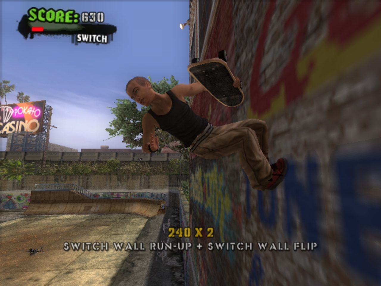 Screenshot for the game Tony Hawk's American Wasteland (2006) PC | RePack от R.G. Механики