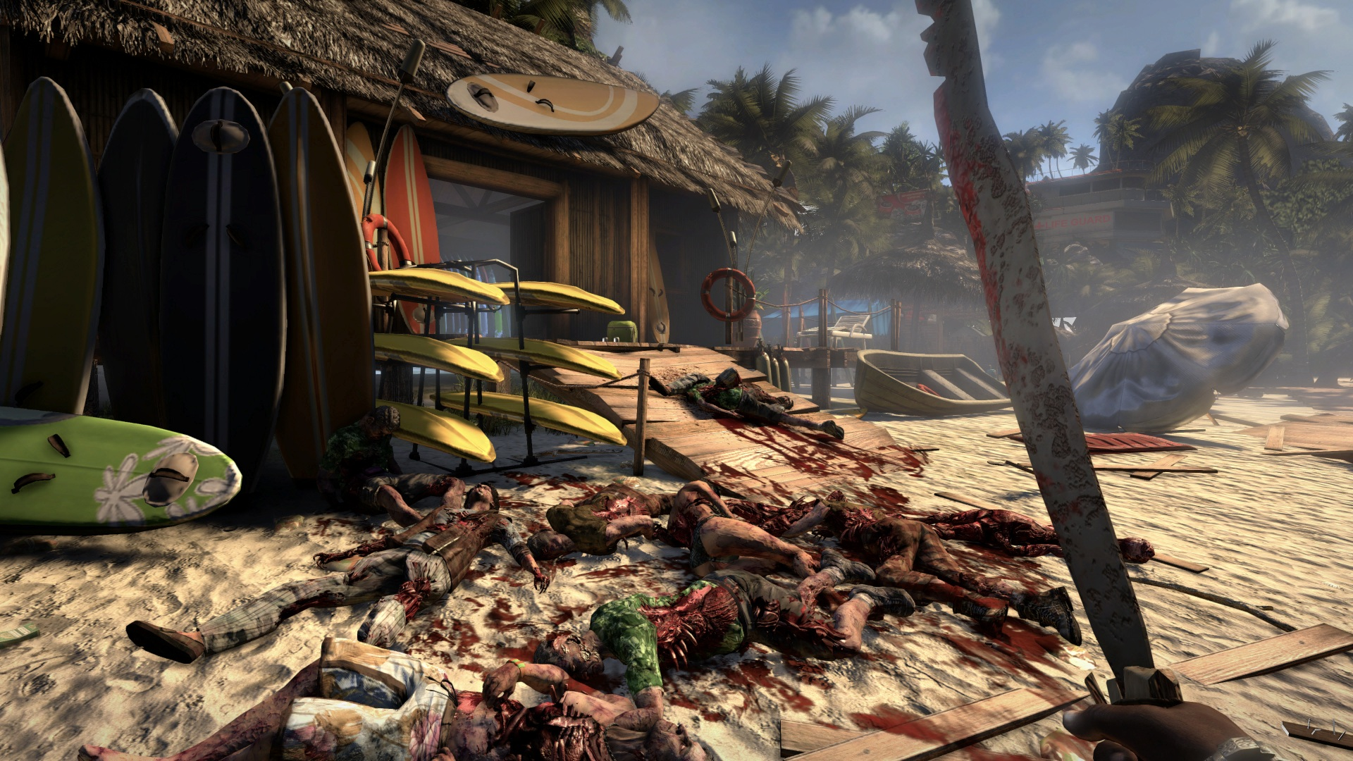 Screenshot for the game Dead Island: Dilogy (2011 - 2013) PC | RePack от R.G. Механики