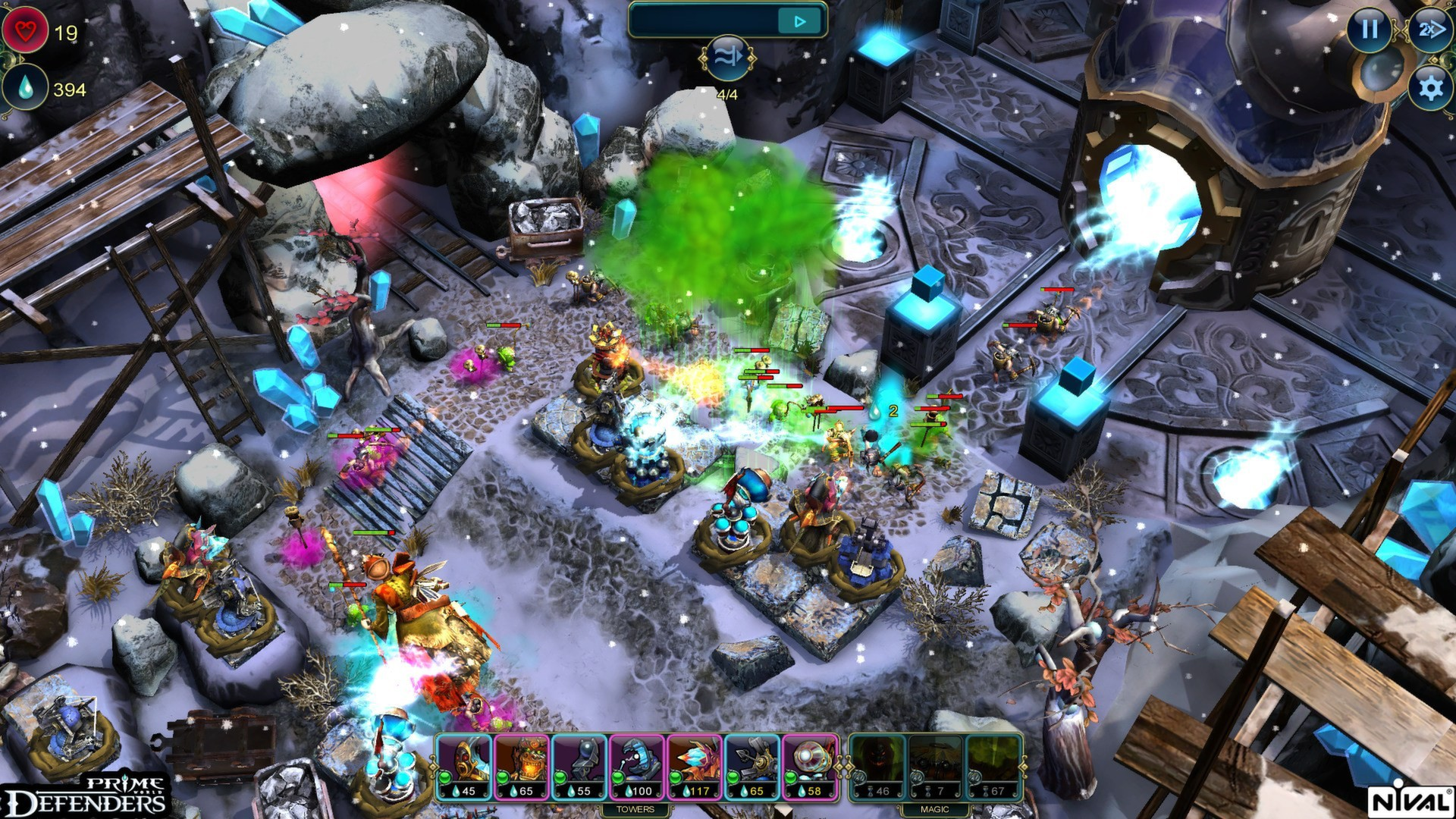 Screenshot for the game Prime World: Defenders (2013) PC | RePack от R.G. Механики