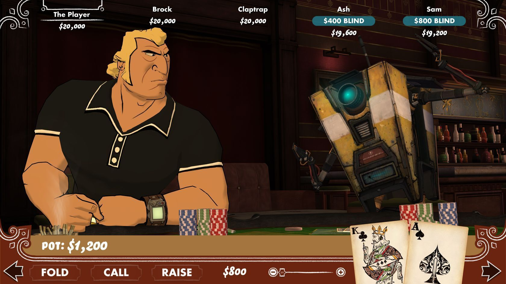 Screenshot for the game Poker Night 2 (2013) PC | RePack от R.G. Механики