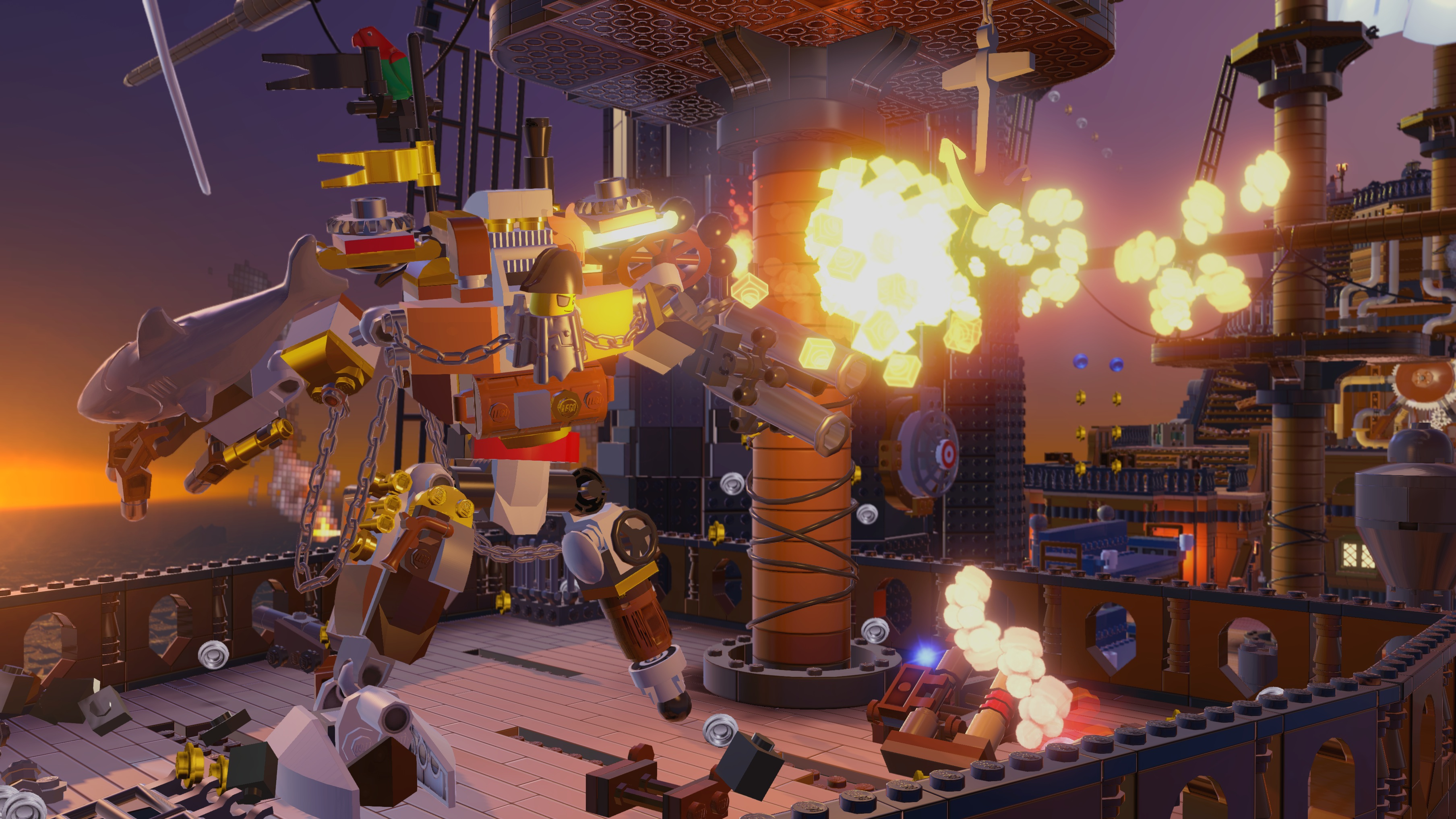 Screenshot for the game LEGO Movie: Videogame (2014) PC | RePack от R.G. Механики