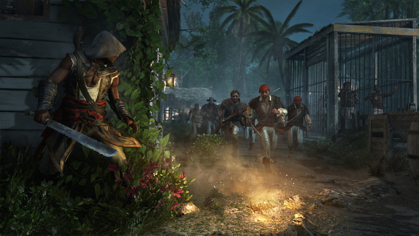 Screenshot for the game Assassin's Creed: Freedom Cry (2014) PC | RePack от R.G. Механики