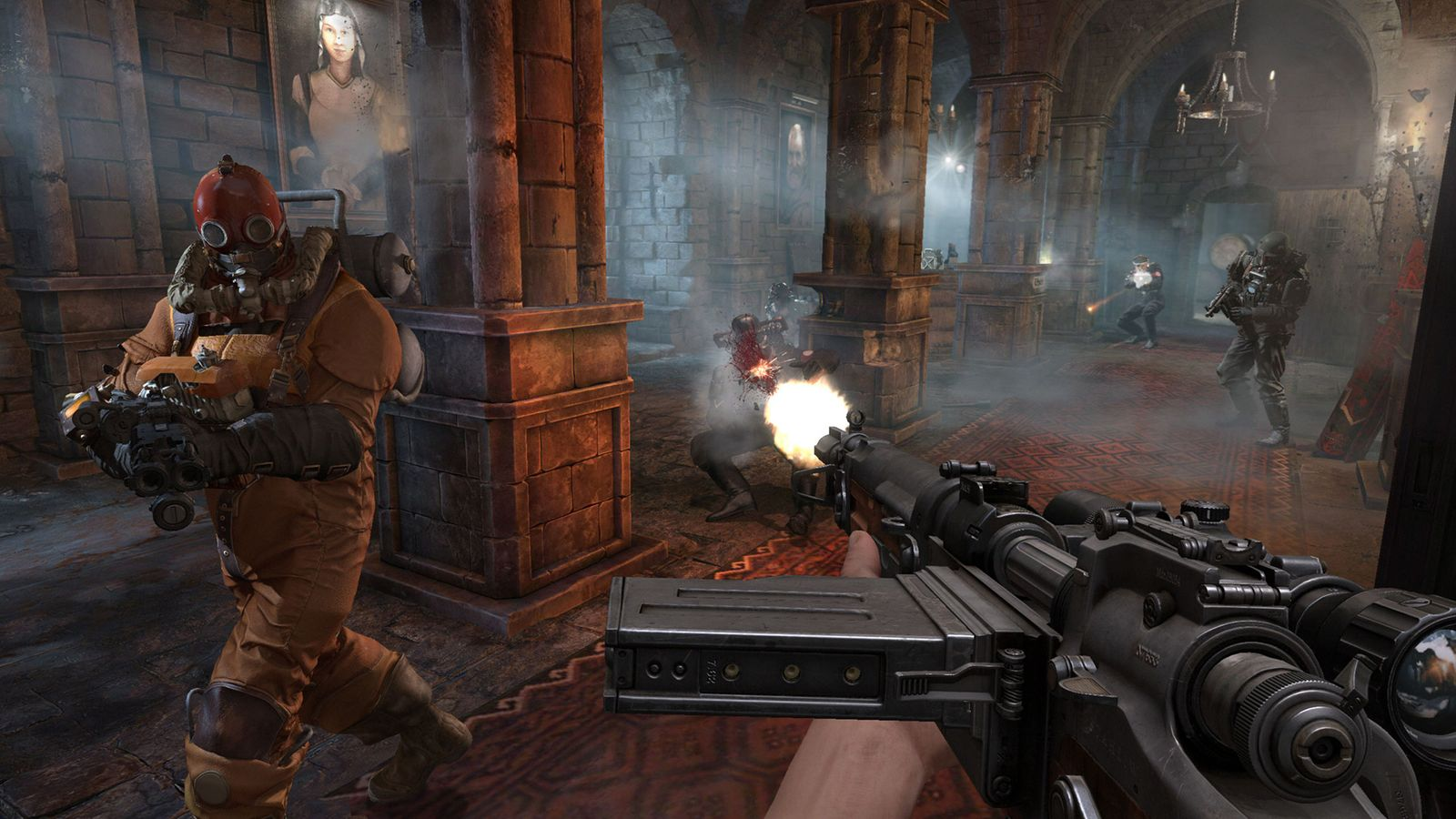 Screenshot for the game Wolfenstein (2009) PC | Rip от R.G. Механики