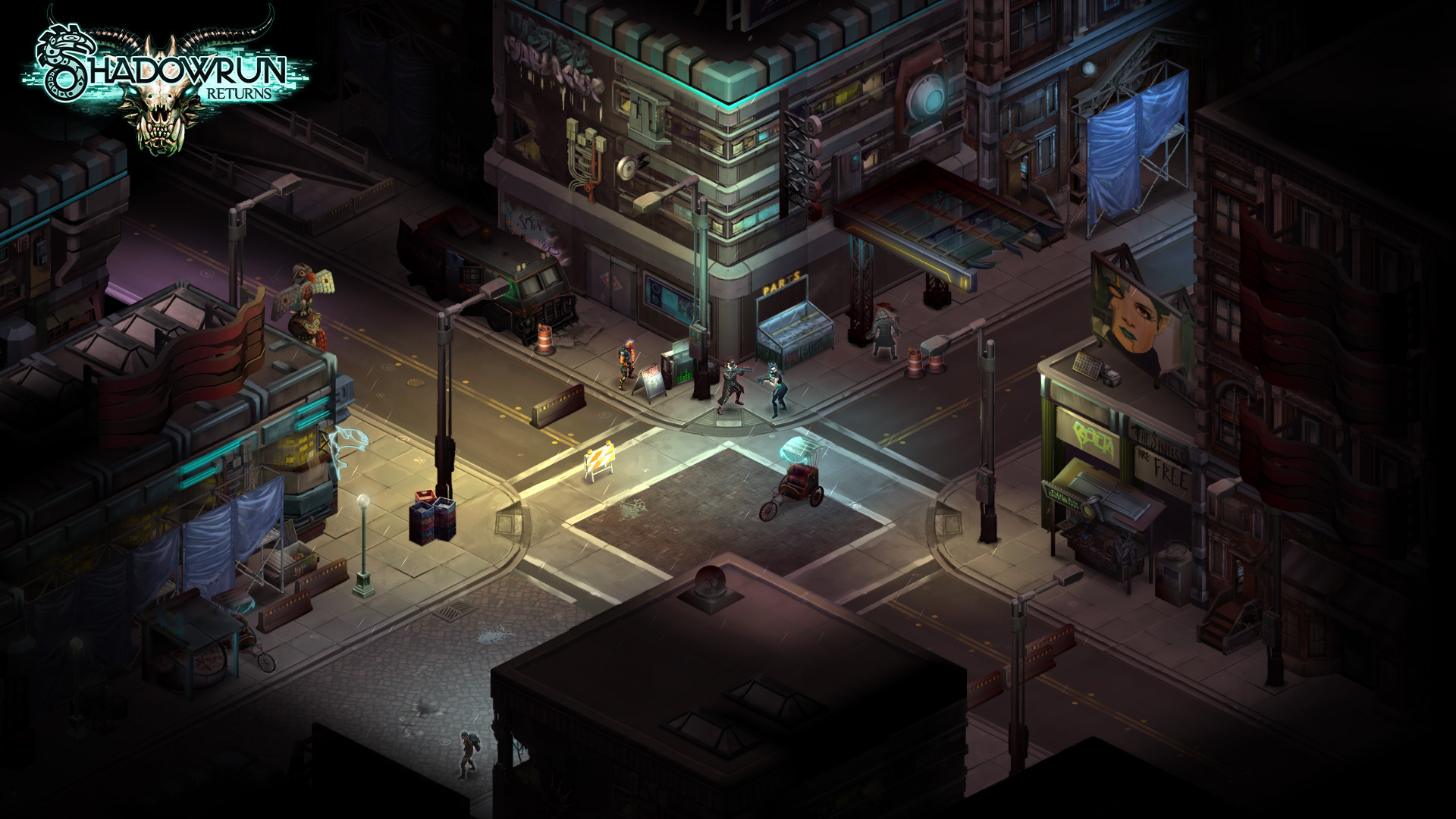 Screenshot for the game Shadowrun Returns [v 1.2.2] (2013) PC | RePack от R.G. Механики