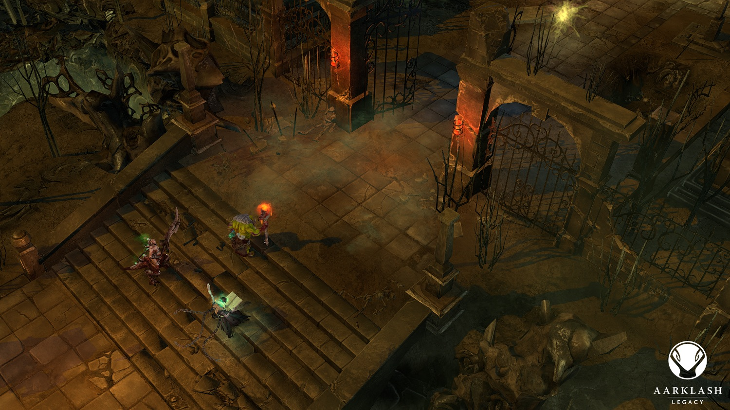 Screenshot for the game Aarklash - Legacy (2013) PC | RePack от R.G. Механики