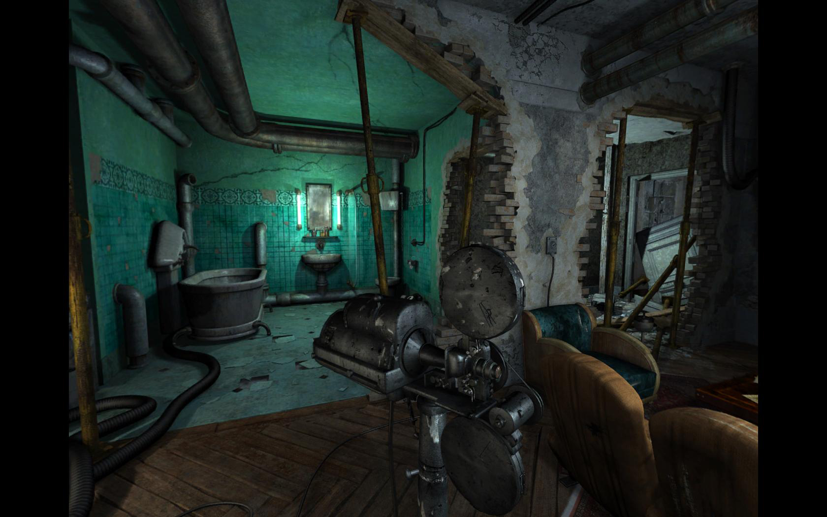Screenshot for the game Nikopol: Secrets of the Immortals (2008) PC | RePack от R.G. Механики