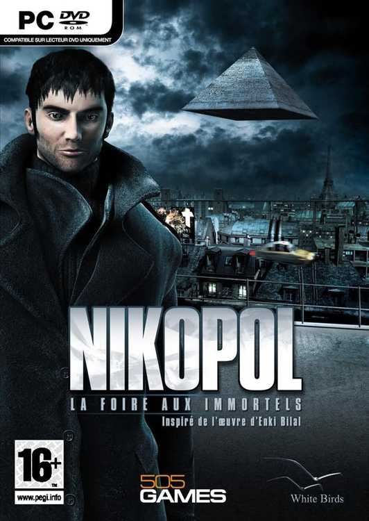 Cover Nikopol: Secrets of the Immortals (2008) PC | RePack от R.G. Механики