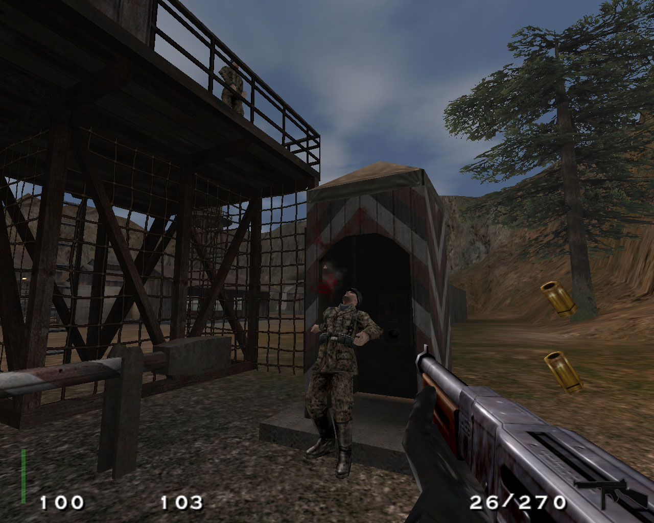 Screenshot for the game Return to Castle Wolfenstein (2001) PC | Rip от R.G. Механики