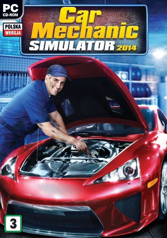 Poster Car Mechanic Simulator 2014 (2014)