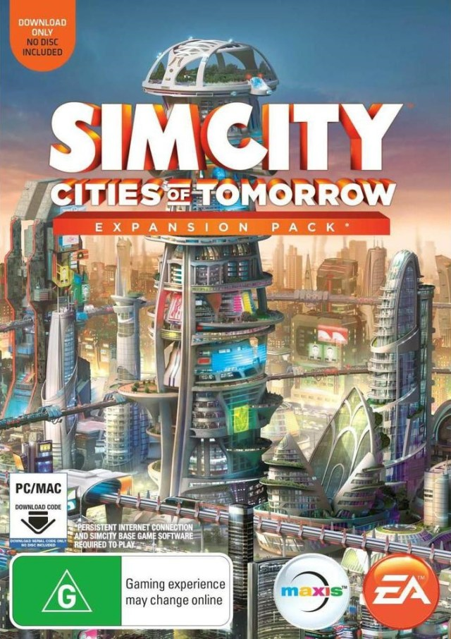 Cover SimCity: Cities of Tomorrow