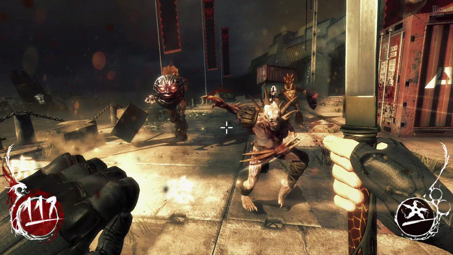 Screenshot for the game Shadow Warrior [v 1.1.2] (2013) PC | RePack от R.G. Механики