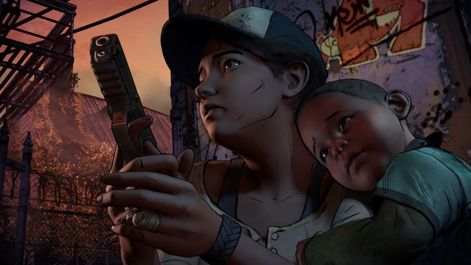 Screenshot for the game The Walking Dead: The Game. Season 2 - Episode 1 and 2 (2013) PC | RePack от R.G. Механики