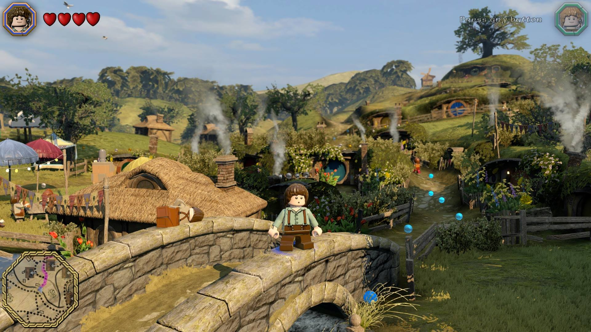 Screenshot for the game LEGO The Hobbit (2014) PC | RePack от R.G. Механики