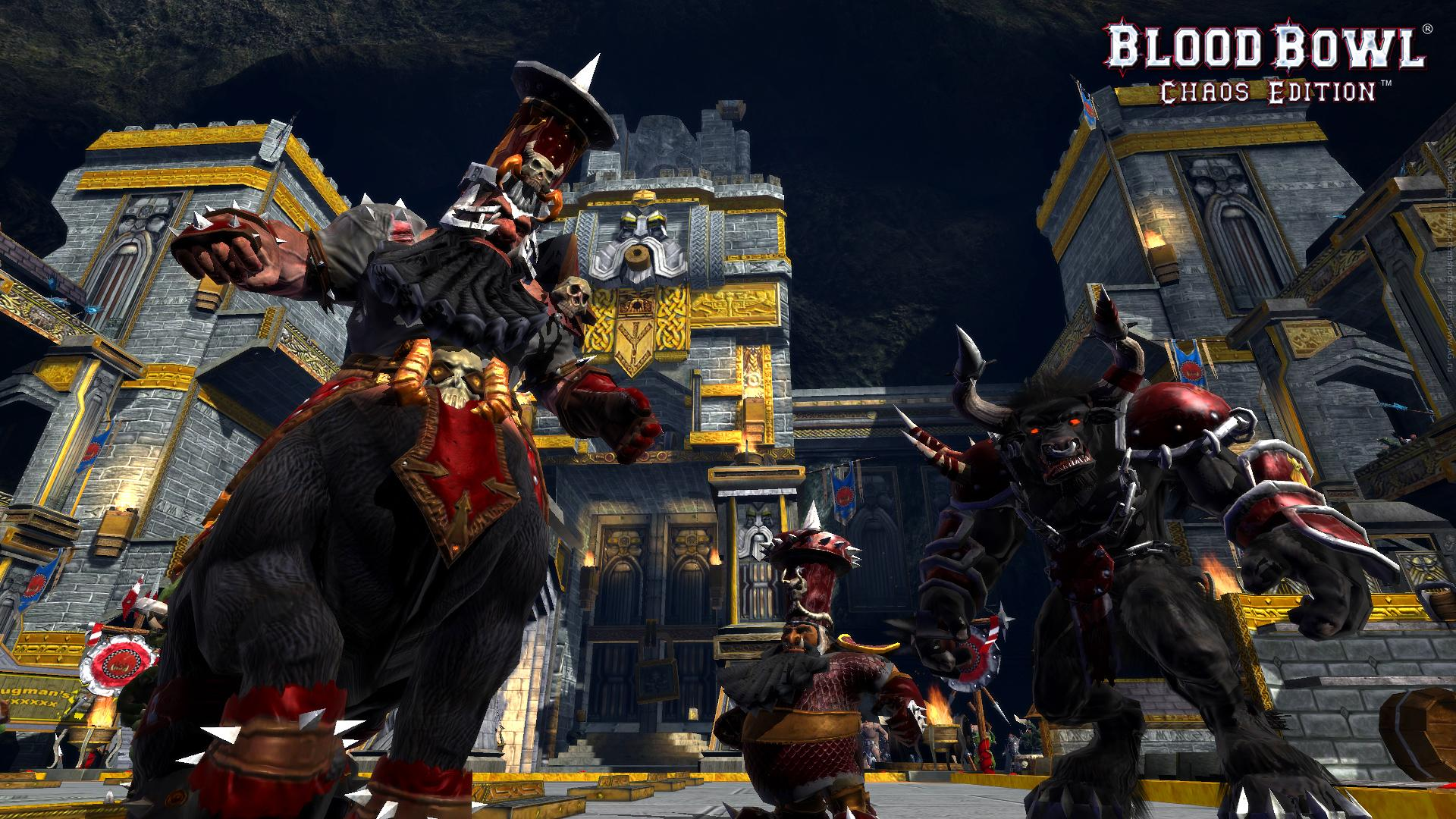 Screenshot for the game Blood Bowl - Chaos Edition (2012) PC | RePack от R.G. Механики